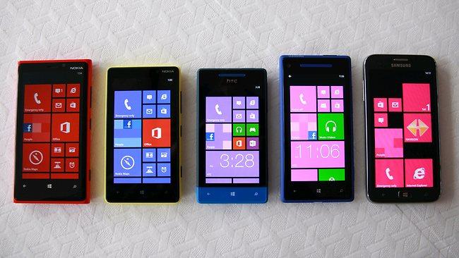 windows 8 handsets