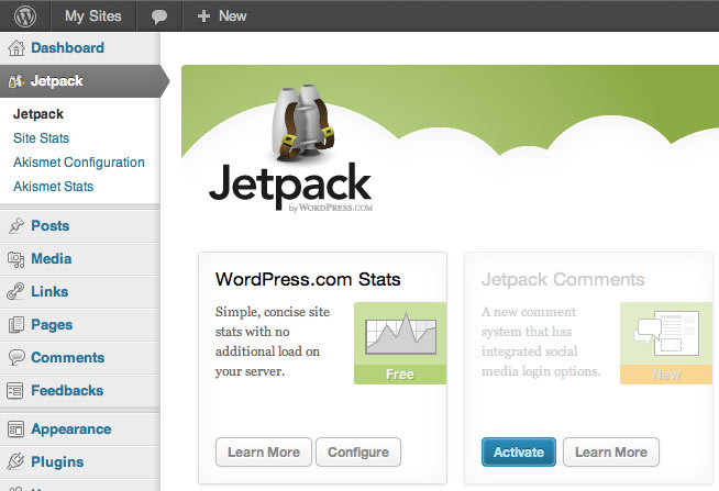 Putting back Jetpack Commenting System with Thesis Commenting Framework