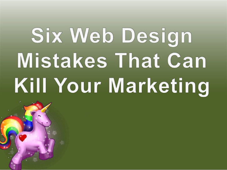 Mistakes That Can Kill Your Website