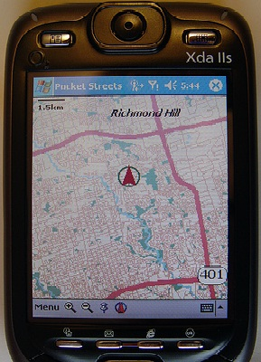 Smart Telephone Applications For GPS Navigation