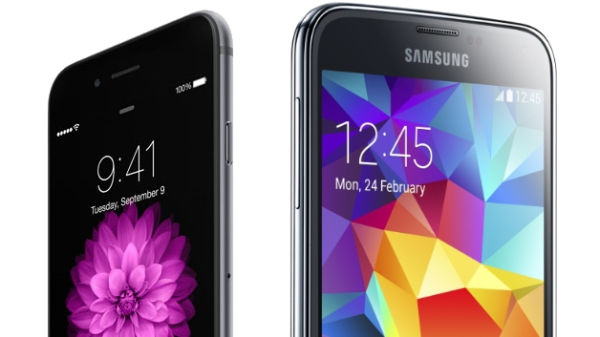 Samsung Galaxy S5 vs Apple iphone 6