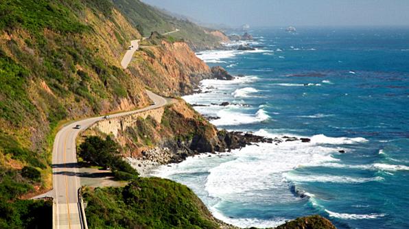 Street Trip Along The Pacific Coast