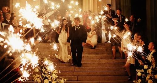 Wedding Sparklers vs. Regular Sparklers