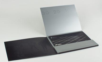 High Quality Printed Presentation Folders