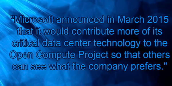 Data Centers Benefit From The Open Compute Project