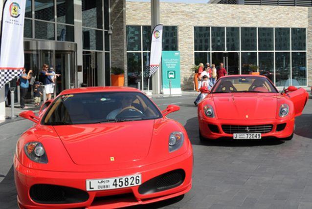 Where To Go To Rent A Ferrari In Dubai?