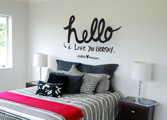 Hello Wall Decal Quotes