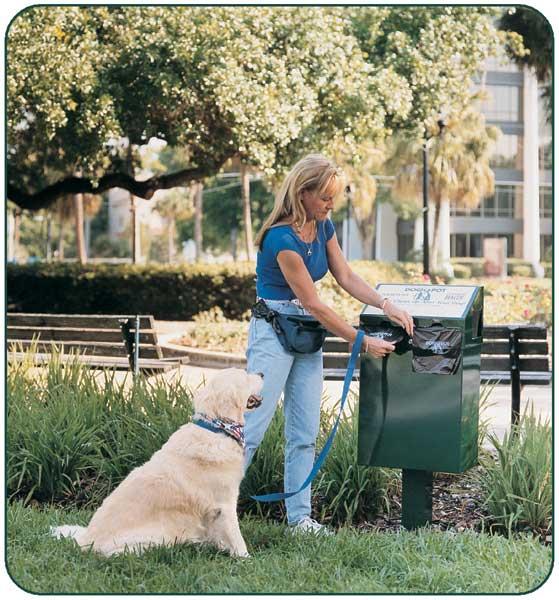 dog waste station for hoa