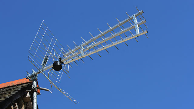 5 Television Antennas Used To Receive TV Signals