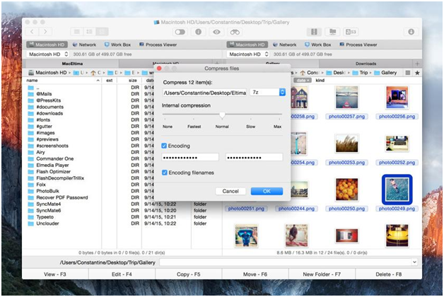 Commander One Review - RAR, 7zip and Tar Extractor For Mac