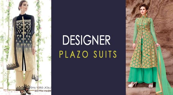 Designer Plazo Suits To Be Worn To The Party