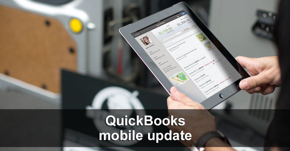 iPhone iPad 4.4 Update by QuickBooks