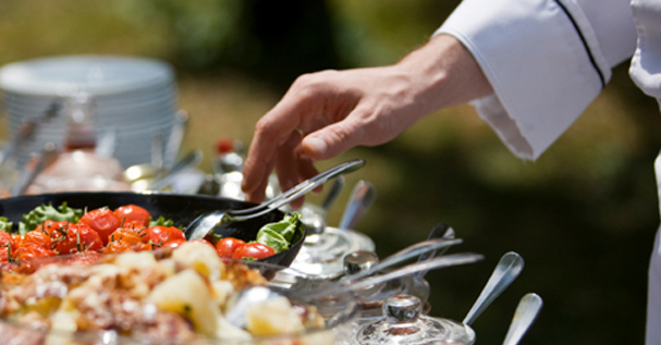 Catering Service Provide Professional Meals To Visitors