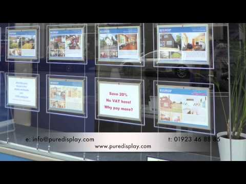 Uses and Benefits Of Estate Agent Displays