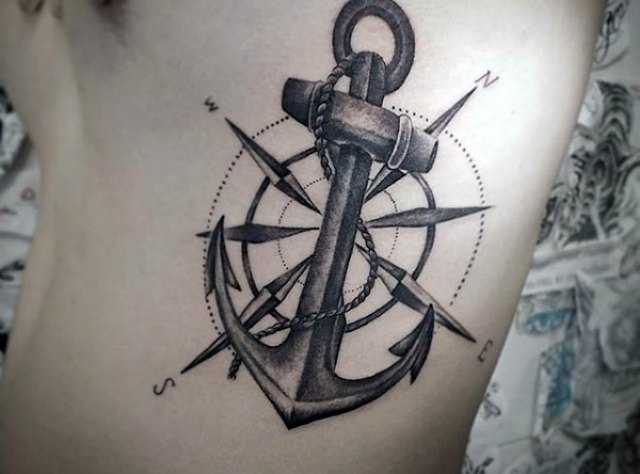 Anchor Tattoos – The Symbols Of True Relationship