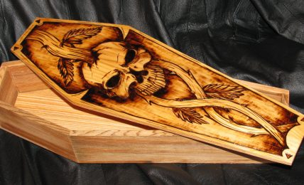Different Types Of Customised Designs On Wooden Coffins