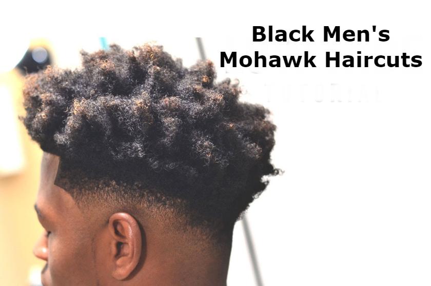Black Men's Mohawk Haircuts