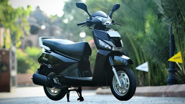 Mahindra Gusto Is A Two Wheeler Exclusive Bike