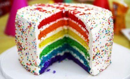 Auspicious Day Celebration With Yummy Cake