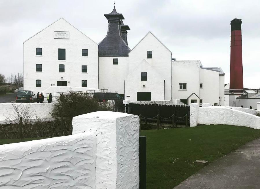 An Islay whisky distillery called Lagavulin