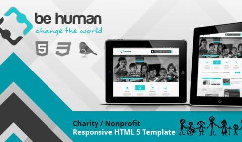 Be human