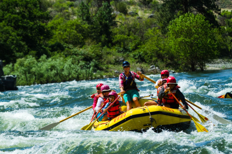 How White Water River Rafting Beats The Heat This Summer