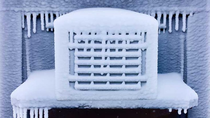 Should My Air Conditioner Be Frozen?