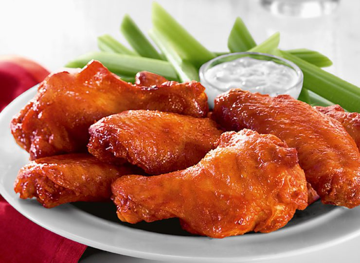 Tasty Sweet And Spicy Buffalo Wings Recipe