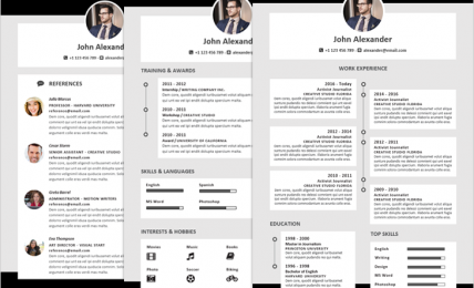 How To Browse Modern Resume Templates